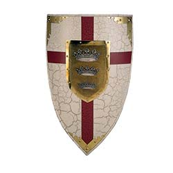 King Arthur Colored Shield by Marto of Toledo Spain
