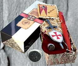 Templar Knight Gift Set #1 by Marto of Toledo Spain