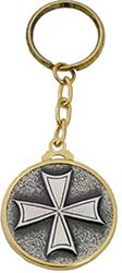 Templar Knight Hospitallers Cross Keychain by Marto of Toledo Spain